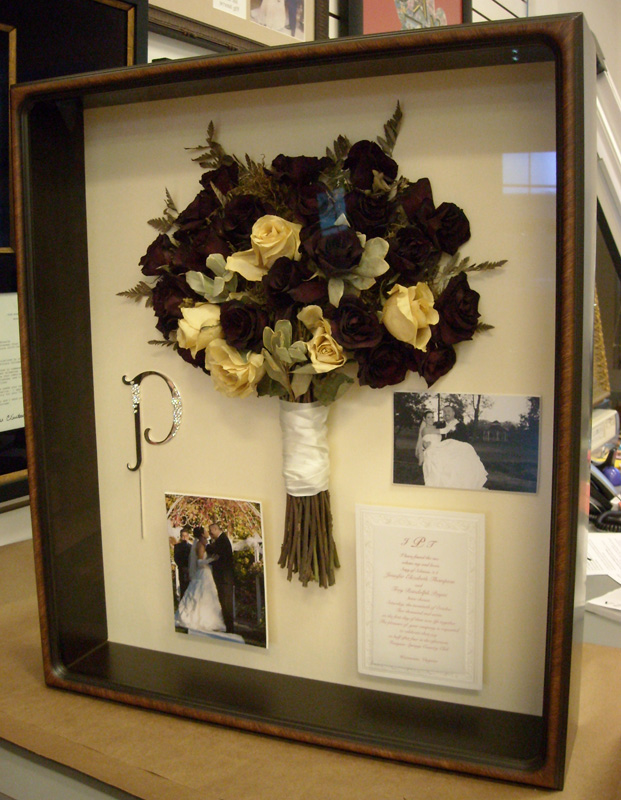 Bouquet Preservation | Applegate Gallery & Custom Framing