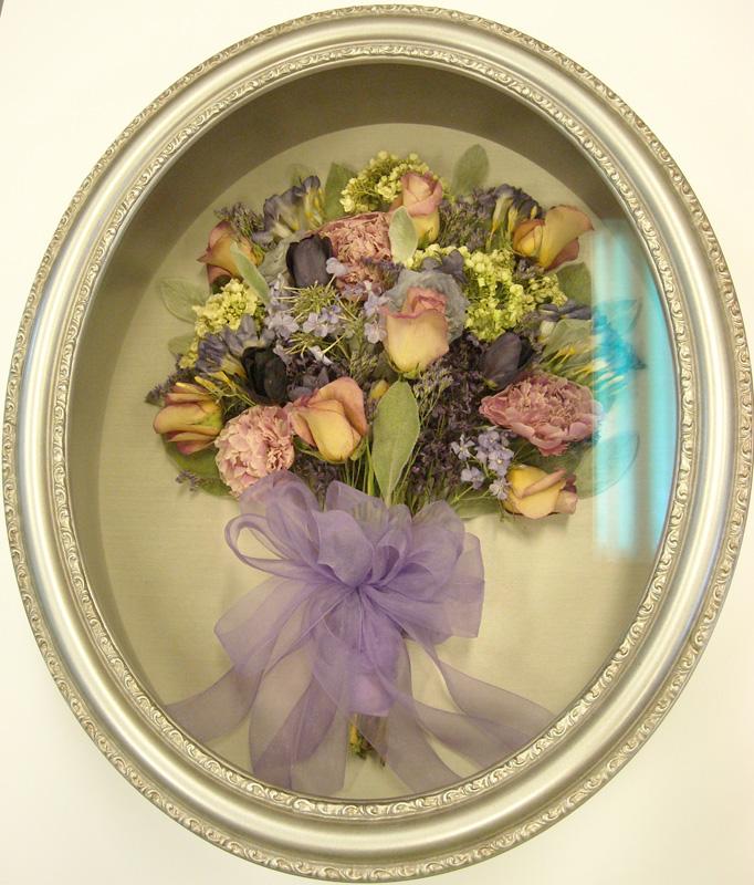 Bouquet Preservation Framing