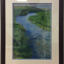 Simple Pastel Framing for Mary